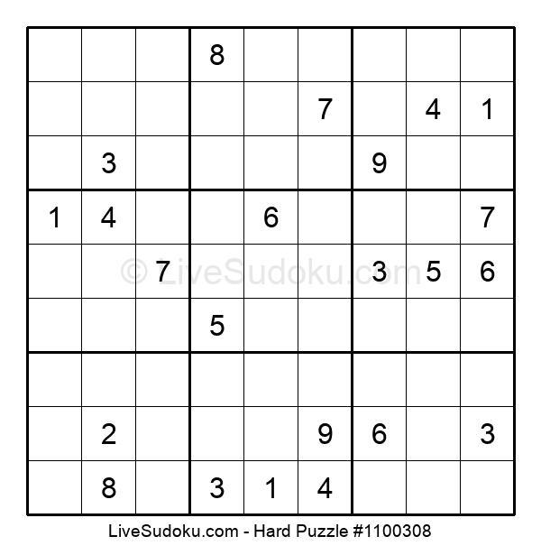 Hard Puzzle #1100308
