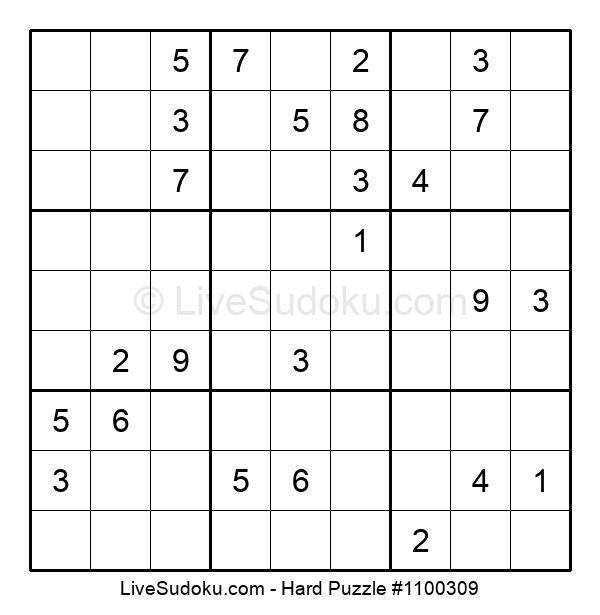 Hard Puzzle #1100309