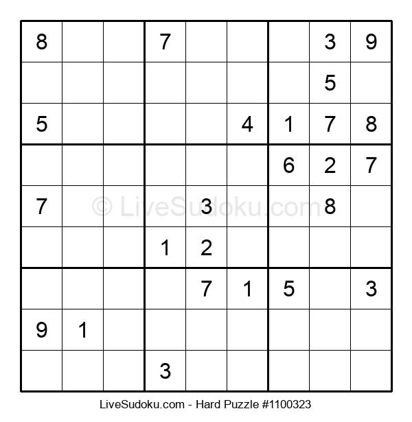 Hard Puzzle #1100323