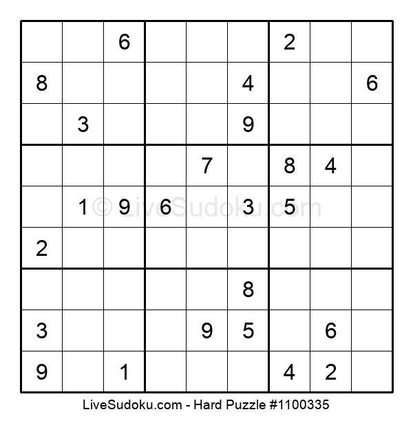 Hard Puzzle #1100335