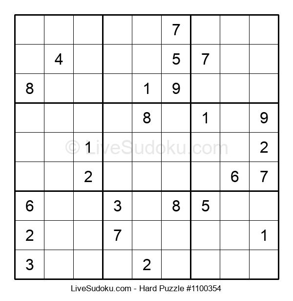 Hard Puzzle #1100354