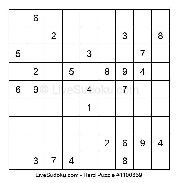 Hard Puzzle #1100359