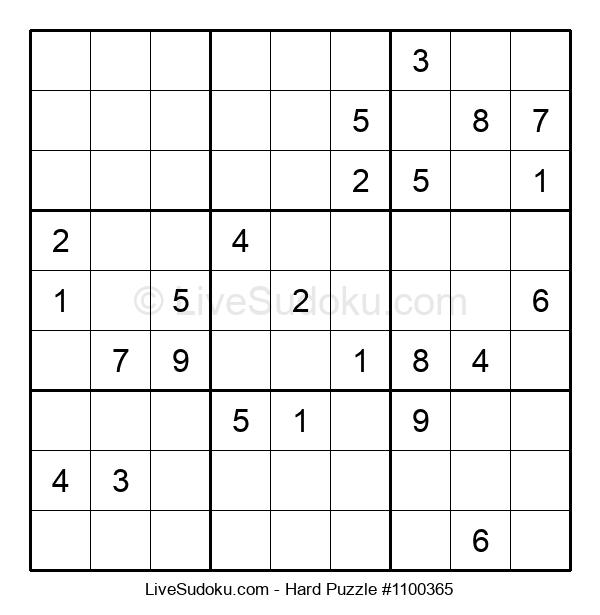 Hard Puzzle #1100365