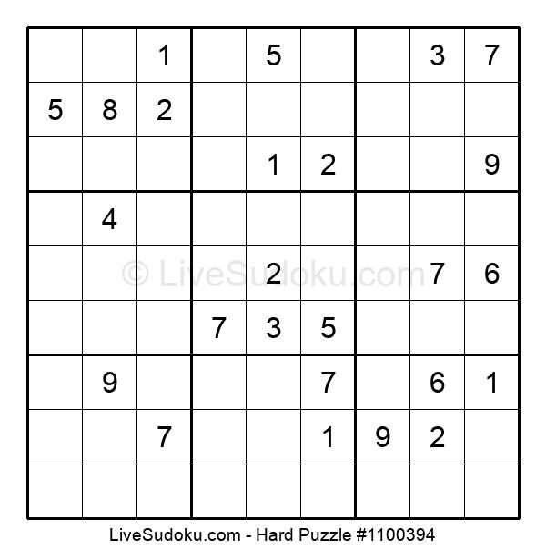 Hard Puzzle #1100394