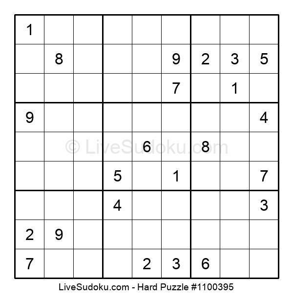 Hard Puzzle #1100395