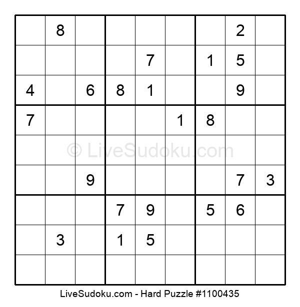 Hard Puzzle #1100435