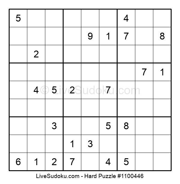 Hard Puzzle #1100446