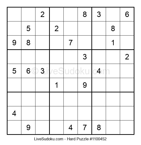 Hard Puzzle #1100452