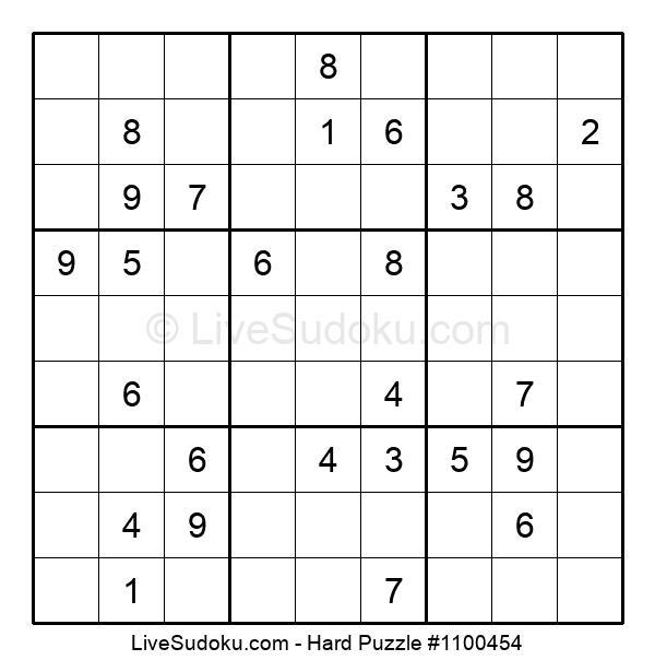 Hard Puzzle #1100454