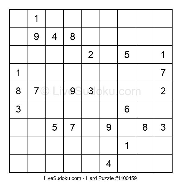 Hard Puzzle #1100459