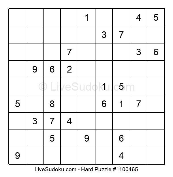 Hard Puzzle #1100465