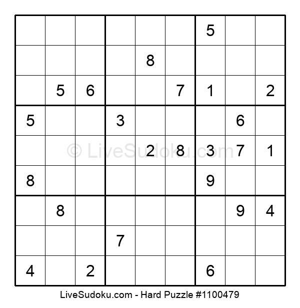 Hard Puzzle #1100479