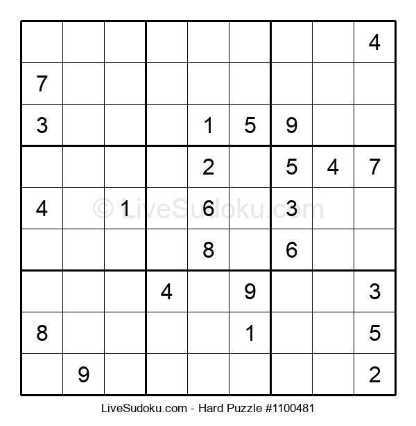 Hard Puzzle #1100481