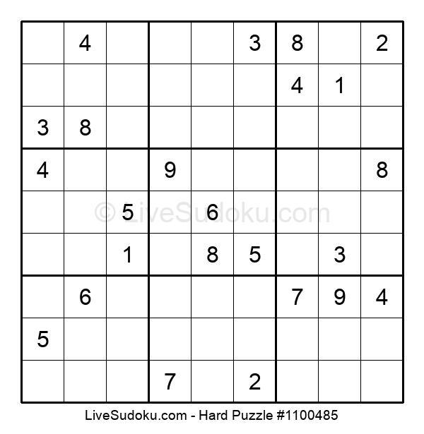 Hard Puzzle #1100485