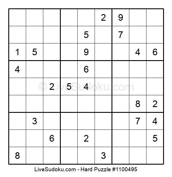 Hard Puzzle #1100495