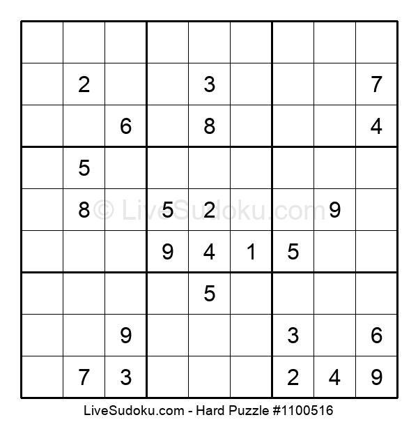 Hard Puzzle #1100516