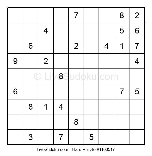 Hard Puzzle #1100517