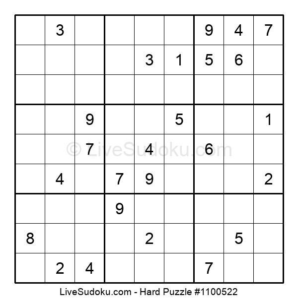 Hard Puzzle #1100522