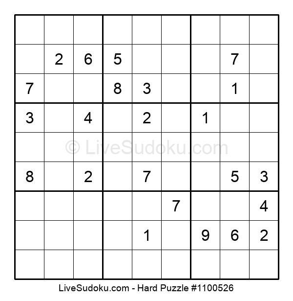 Hard Puzzle #1100526