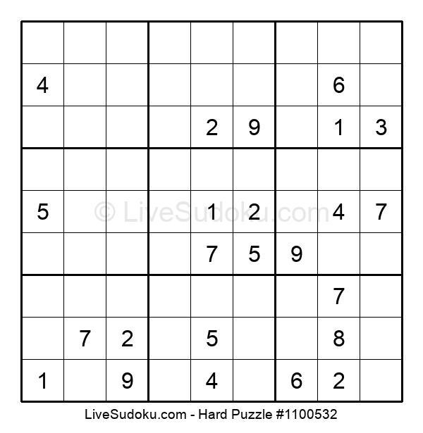 Hard Puzzle #1100532