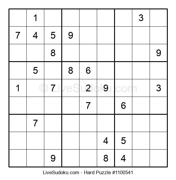 Hard Puzzle #1100541
