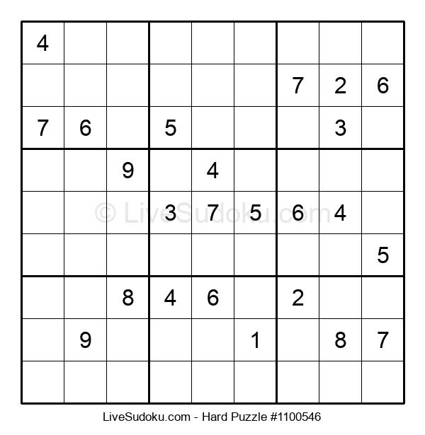 Hard Puzzle #1100546