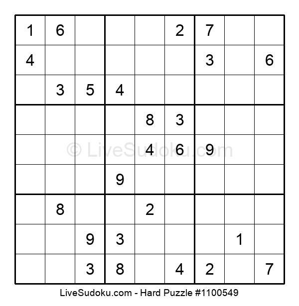 Hard Puzzle #1100549