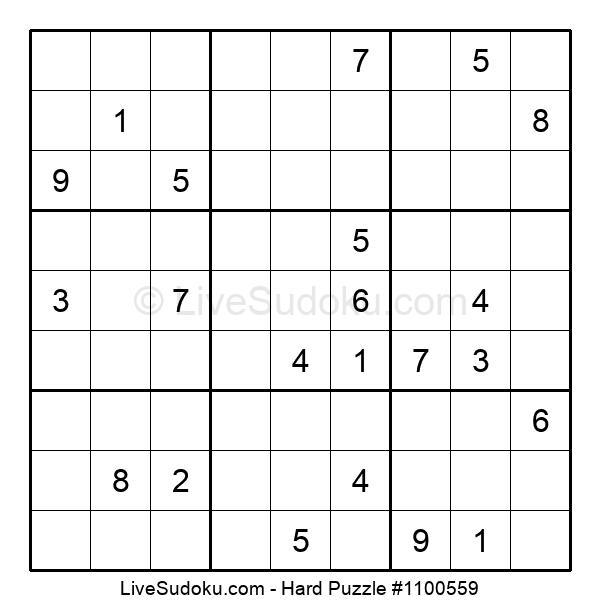 Hard Puzzle #1100559
