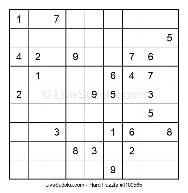 Hard Puzzle #1100565