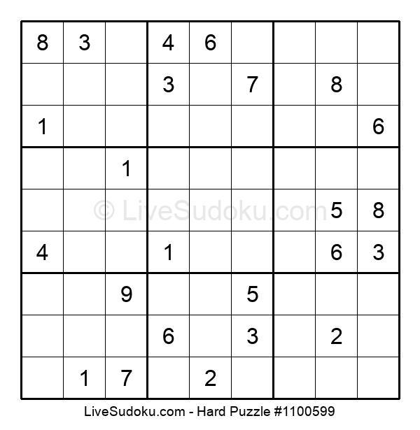 Hard Puzzle #1100599