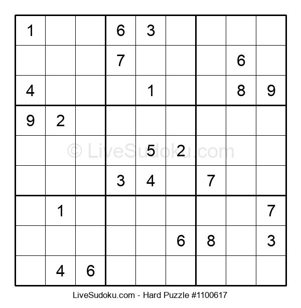 Hard Puzzle #1100617
