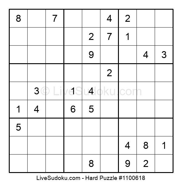 Hard Puzzle #1100618