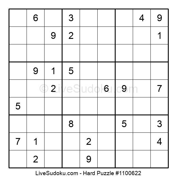 Hard Puzzle #1100622