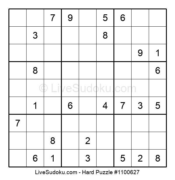 Hard Puzzle #1100627