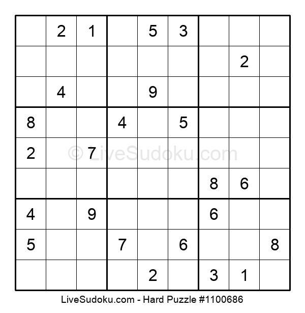 Hard Puzzle #1100686