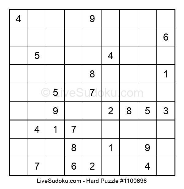 Hard Puzzle #1100696