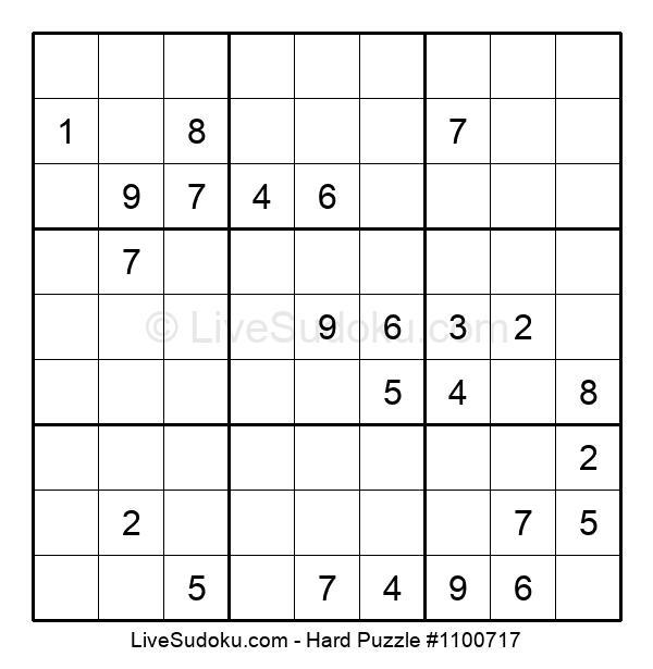 Hard Puzzle #1100717