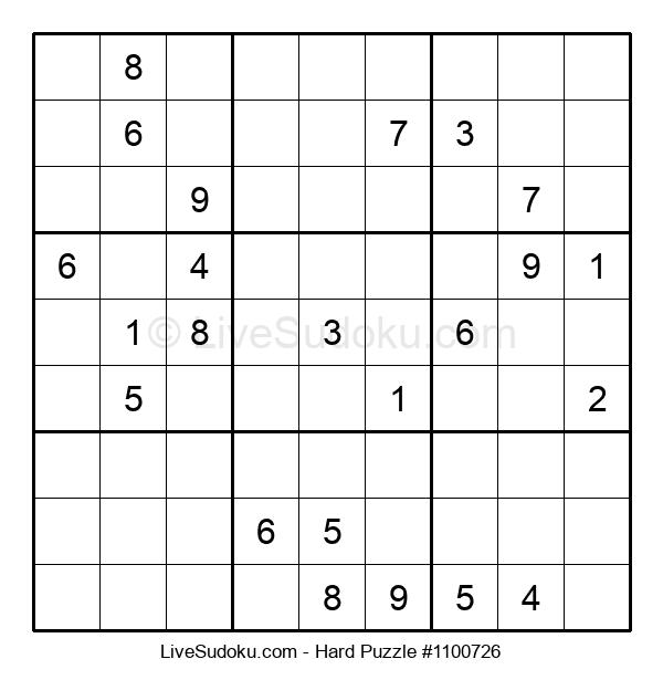 Hard Puzzle #1100726