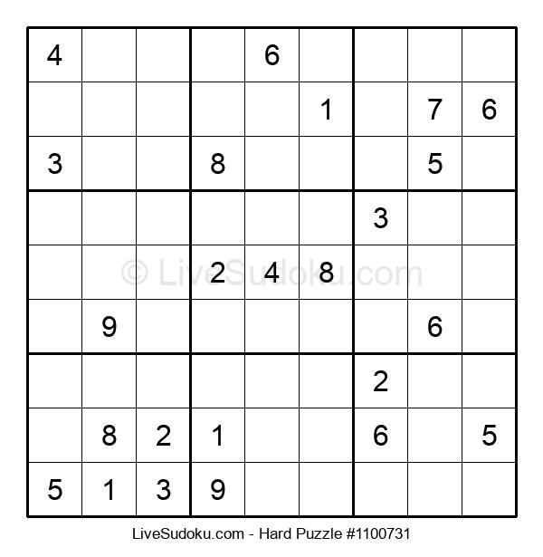Hard Puzzle #1100731
