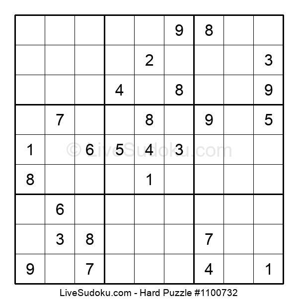 Hard Puzzle #1100732