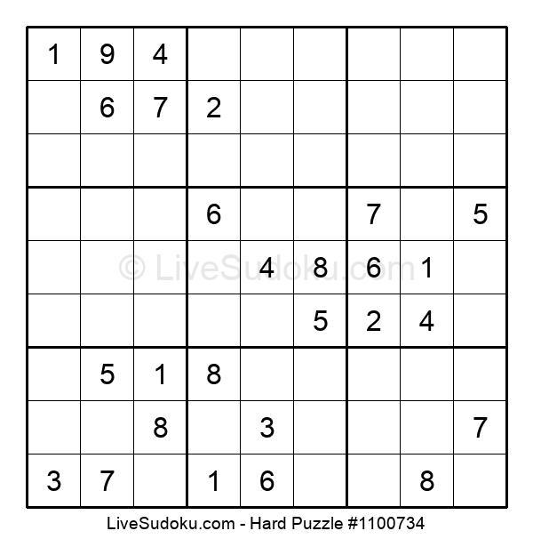 Hard Puzzle #1100734