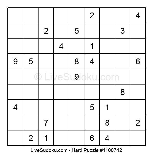 Hard Puzzle #1100742