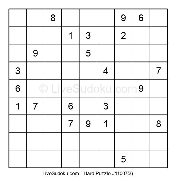 Hard Puzzle #1100756