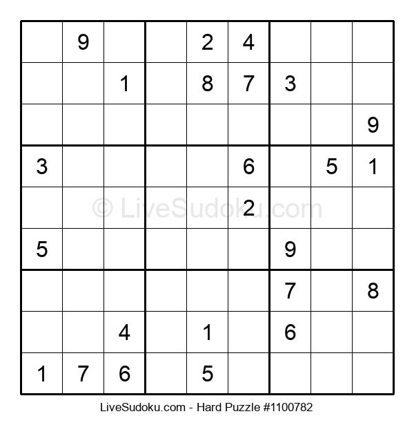 Hard Puzzle #1100782