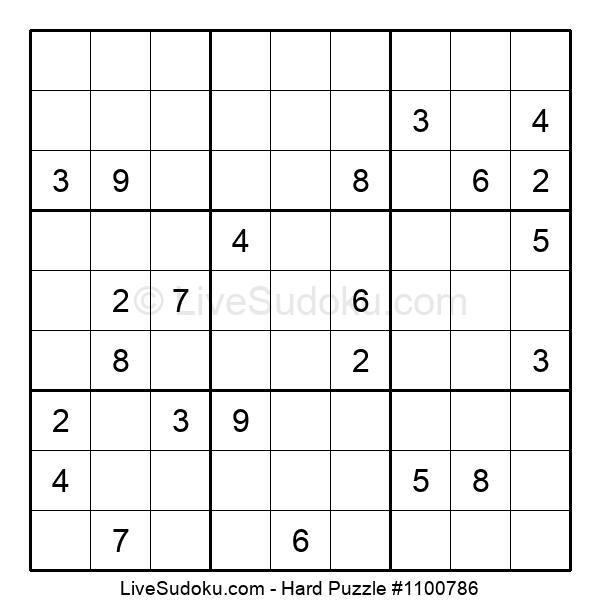 Hard Puzzle #1100786