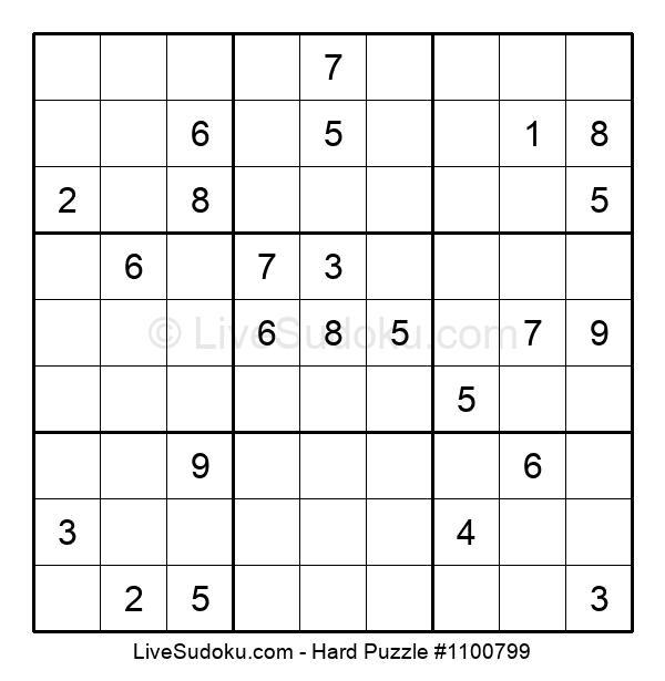 Hard Puzzle #1100799