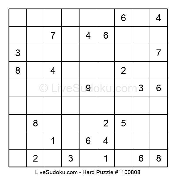 Hard Puzzle #1100808
