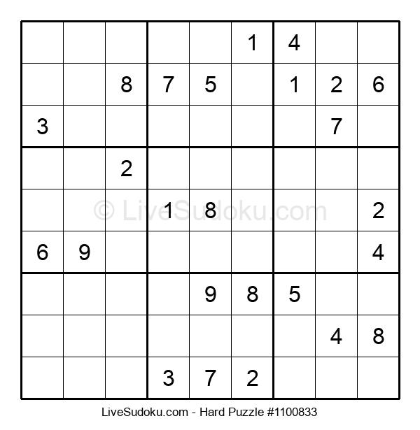 Hard Puzzle #1100833