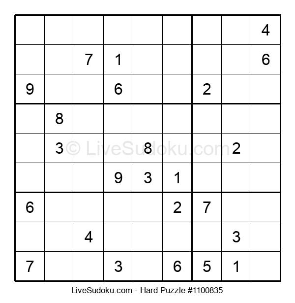 Hard Puzzle #1100835