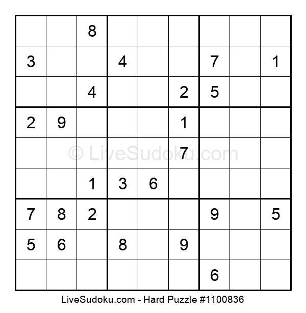 Hard Puzzle #1100836